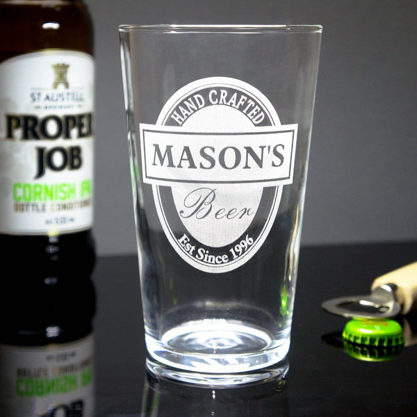 Traditional Ale Glass