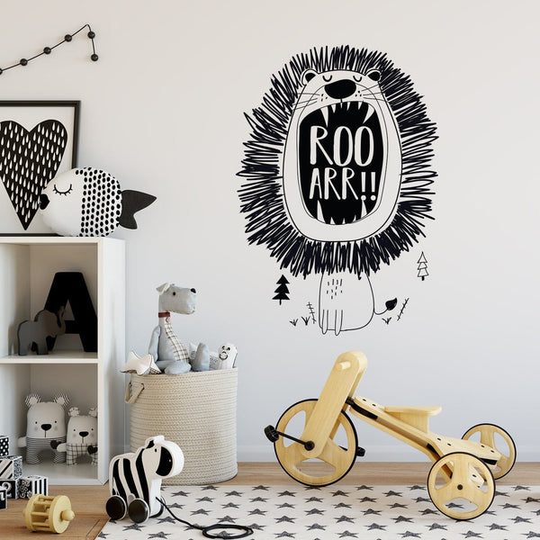 ROOAAR!! Wall Decal