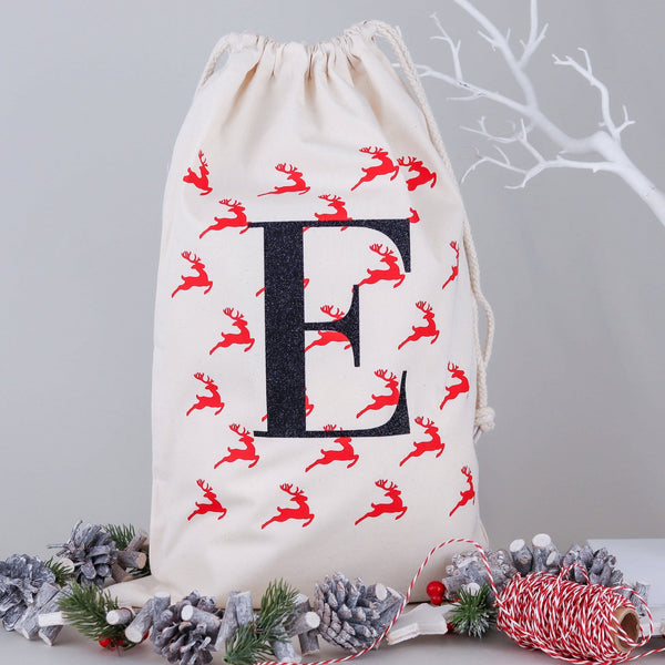 Christmas Eve Reindeer Bag