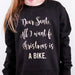 Dear Santa Christmas Jumper