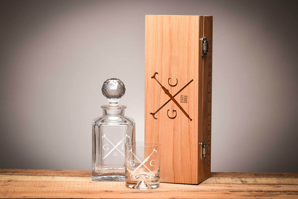 Gentlemen's Whiskey Gift Set