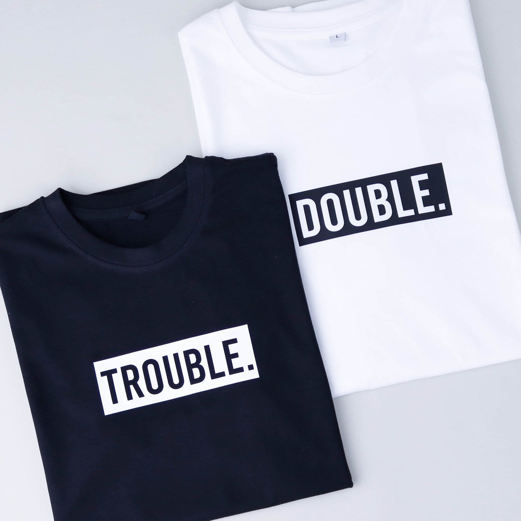 Double Trouble Twinning Tees
