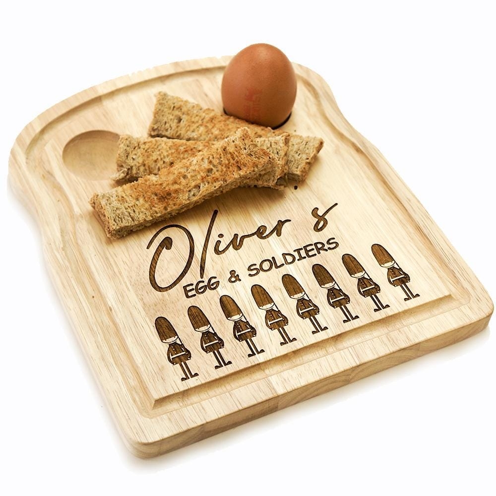 EGG & SOLDIERS BREAD BOARD