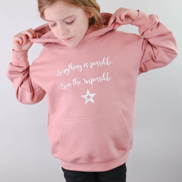 Everything Is Possible Kids Hoodie