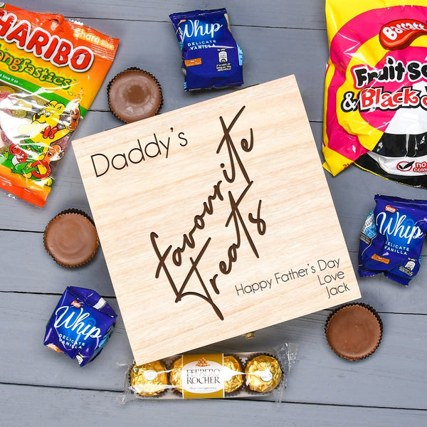 Treat Box For Dad