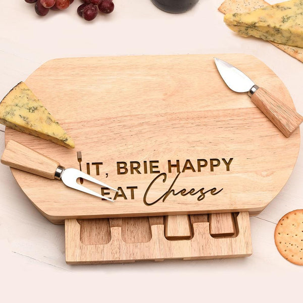 FORK IT CHEESE BOARD OVL-OMG100