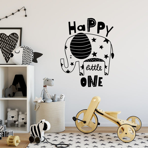 Happy Little One Wall Decal