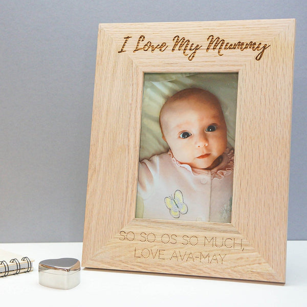 Personalised Natural Oak Frame WBM5228-OMG120