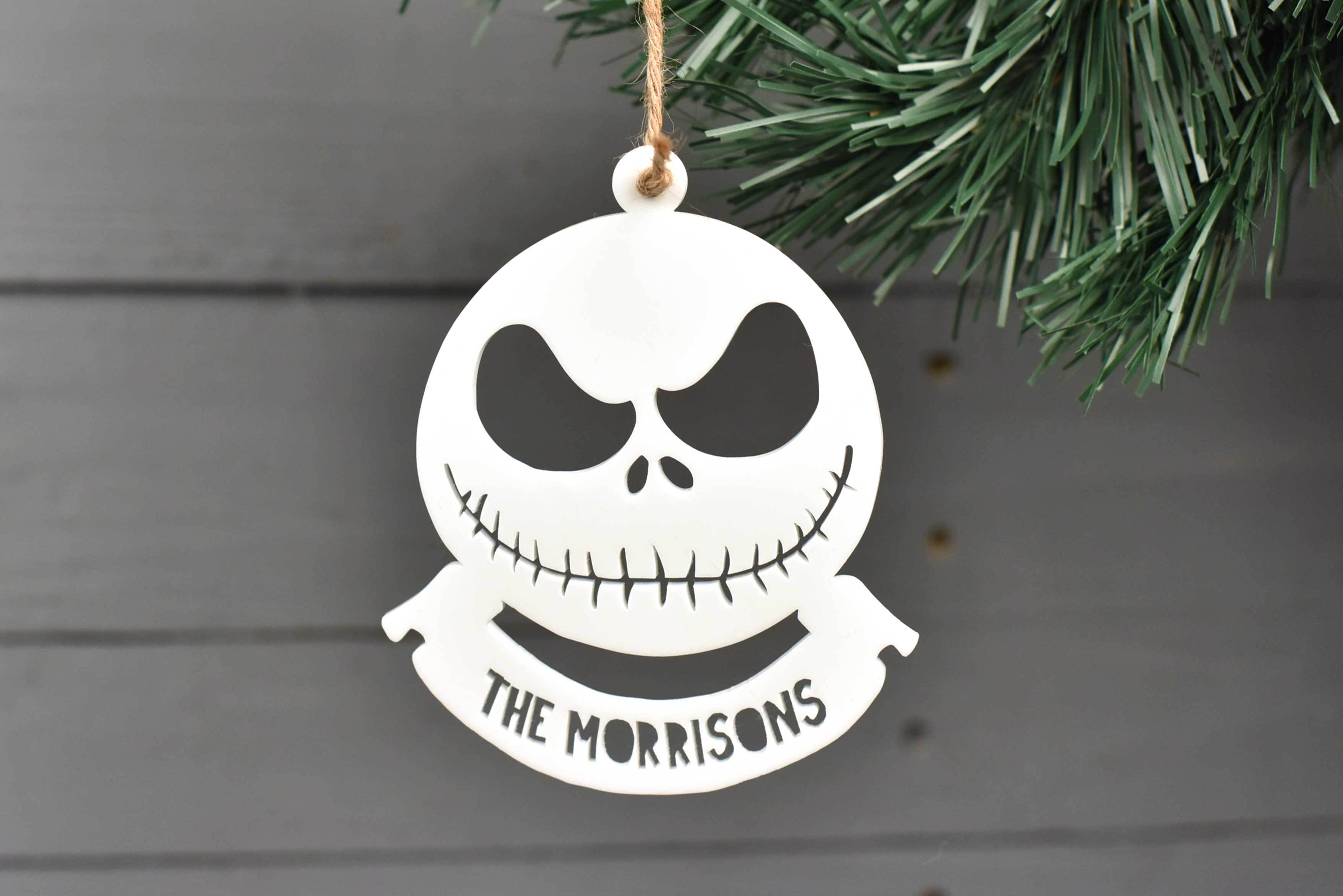jack skellington christmas decoration - Jack Skeleton Christmas Decorations