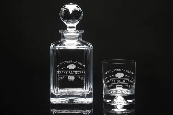 Peaky Blinders Decanter & Tumbler Set