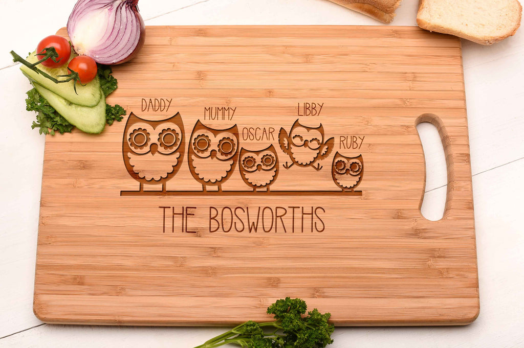 Owl Family Board