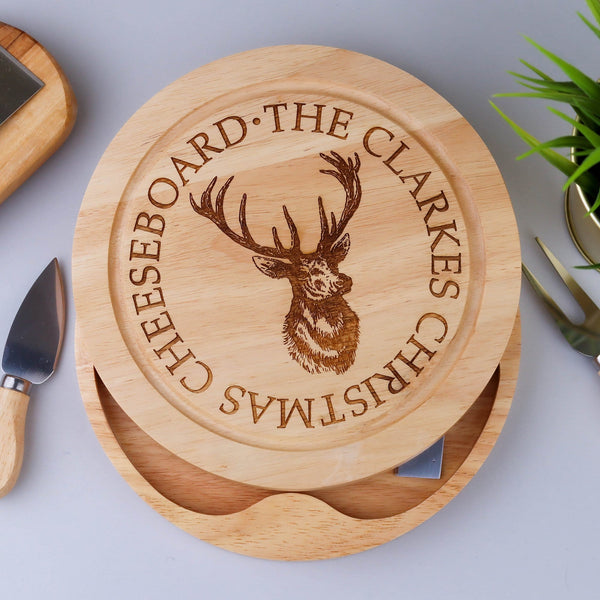 Stag Cheese Board