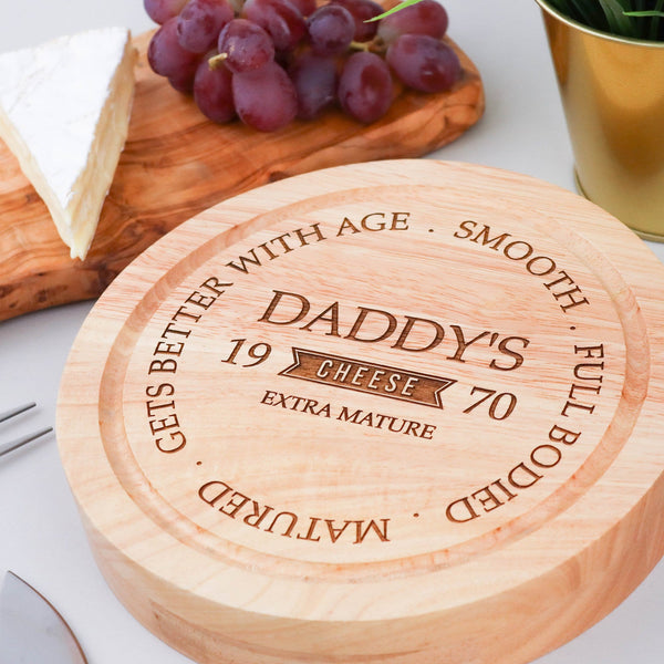 Cheesy Daddy Board & Knives Set