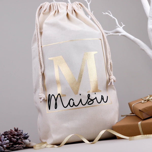 Christmas Eve Bag Monogram