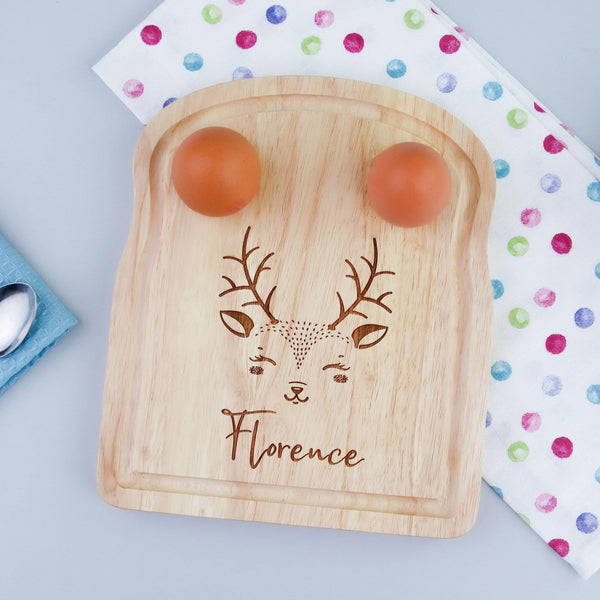 Reindeer Breakfast Board