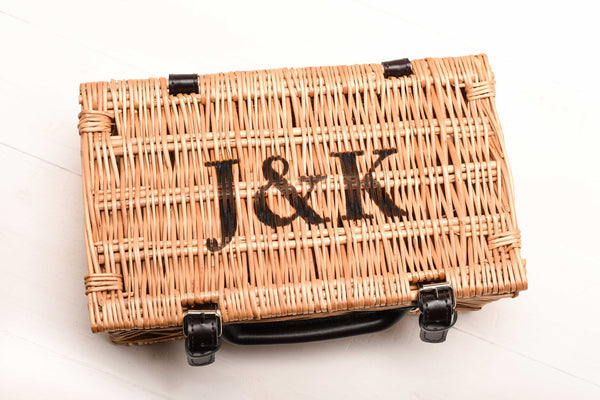 Personalised Wicker Picnic Hamper