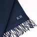 Personalised Ladies Navy Scarf