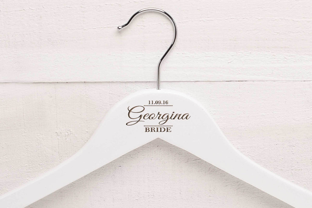 Personalised Wedding Hangers WH33