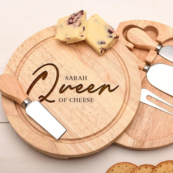 QUEEN OF CHEESE BOARD RND-OMG97