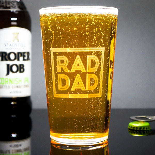 Rad Dad Glass