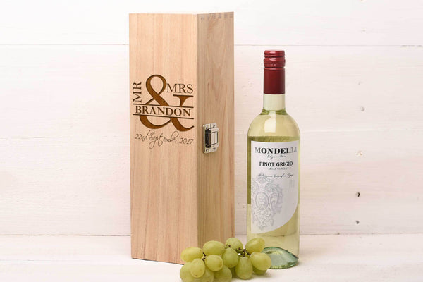 Single Wine Box Wedding Gift WB11