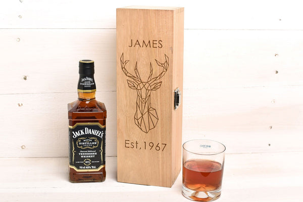 Stag Design Whiskey Box