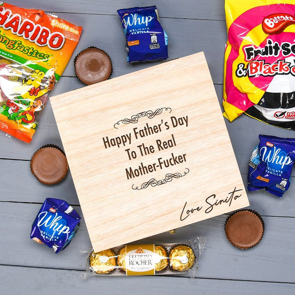 Funny Treat Box For Daddy