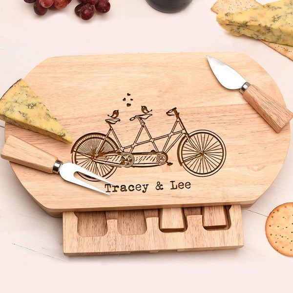 TANDEM LOVE CHEESE BOARD OVL-OMG101