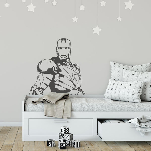 Iron Wall Decal