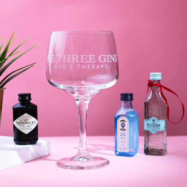 We Three Gins Glass & Miniatures
