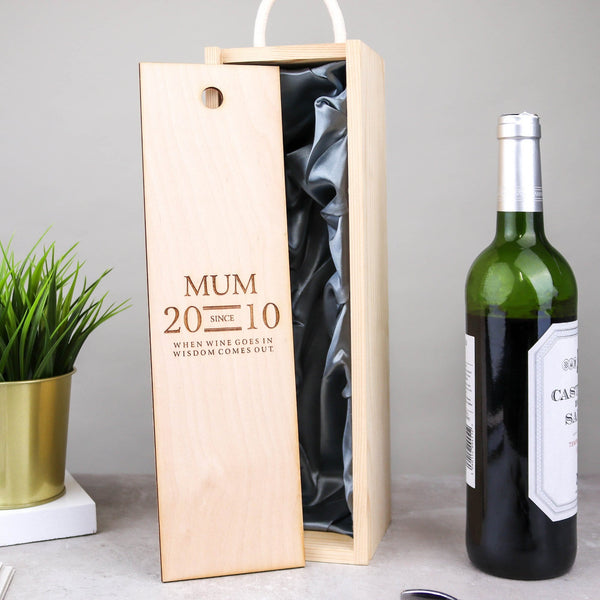 Mum's Wine Box