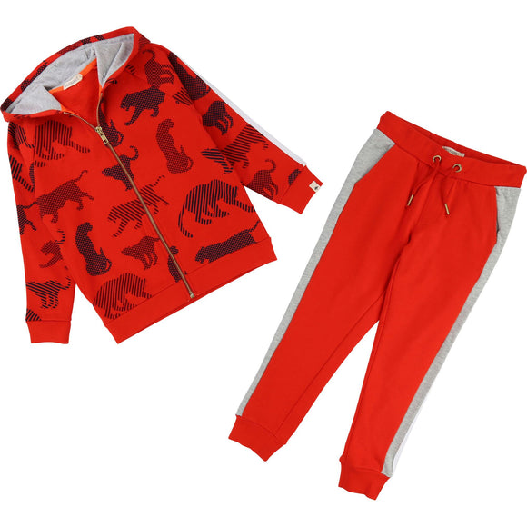 Track suit red