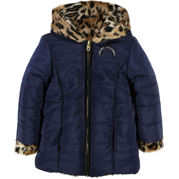 Reversible Puffer Jacket navy