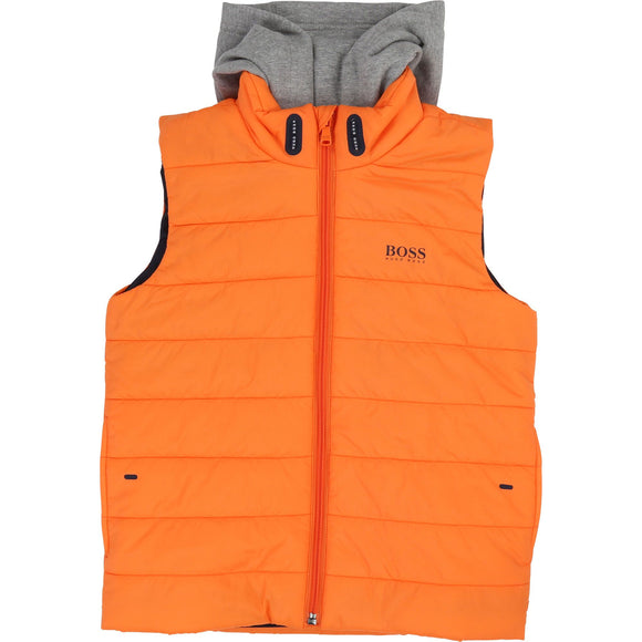 PUFFER JACKET SLEEVELESS