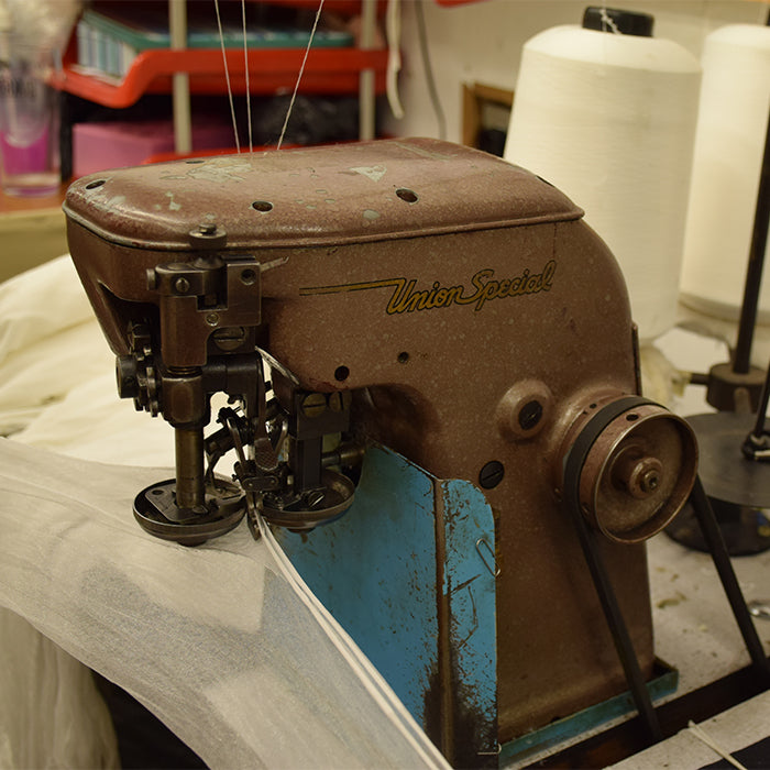 Fully Fashioned Stockings | Vintage Seaming Machine