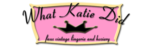 Vintage Lingerie by What Katie Did
