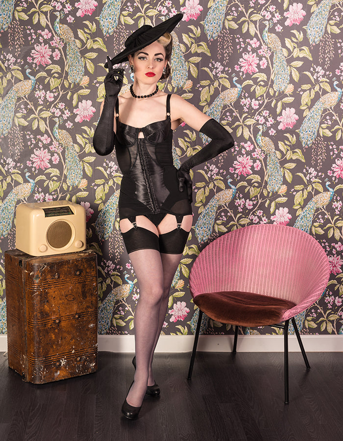 Vintage Style | Dior's New Look Inspired Shapewear Corselette Body Briefer