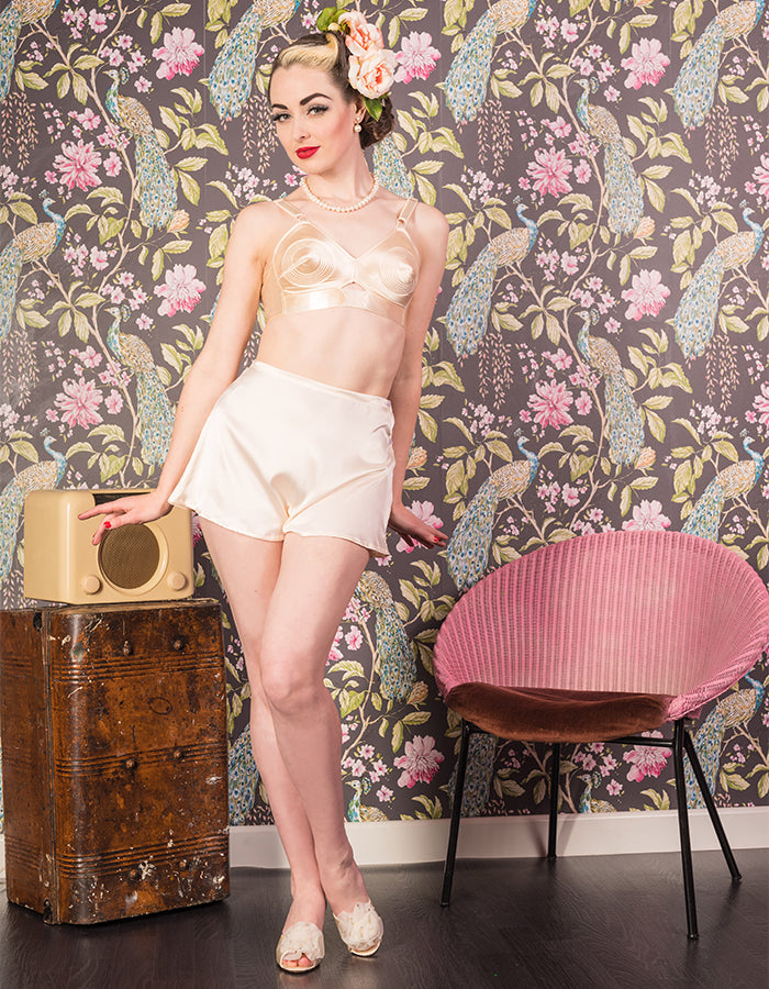 Vintage Style | Retro French Knickers Tap Panties CC41 Austerity Lingerie