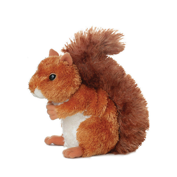 Mini Flopsie - Nutsie Squirrel soft toy - Aurora World LTD