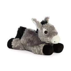 Donkey soft toy - great gift idea for kids and adults