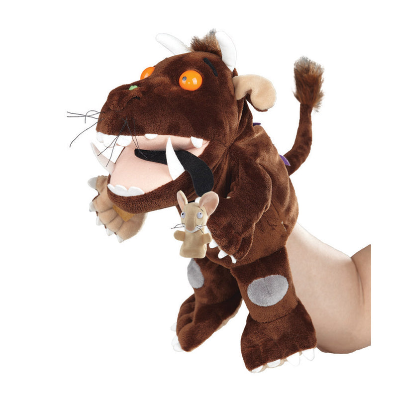 Gruffalo Hand Puppet & Mouse Finger Puppet - Aurora World LTD