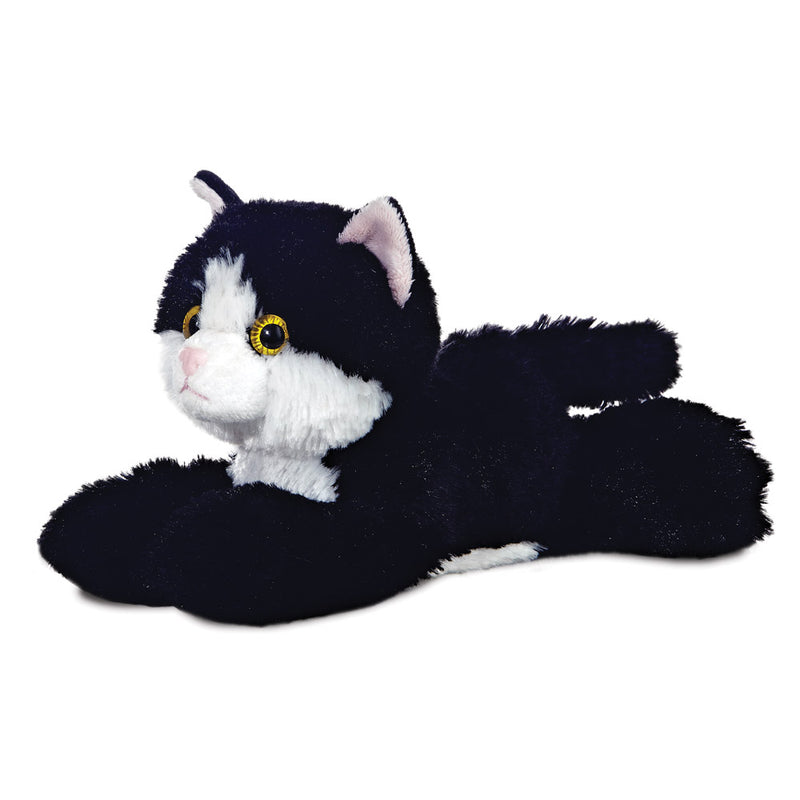 Mini Flopsie - Maynard Black & White Cat - Aurora World LTD