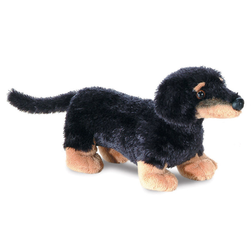 Mini Flopsie - Vienna the Dachshund soft toy - Aurora World LTD