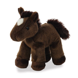 Mini Flopsie - Chestnut the Horse soft toy - Aurora World LTD