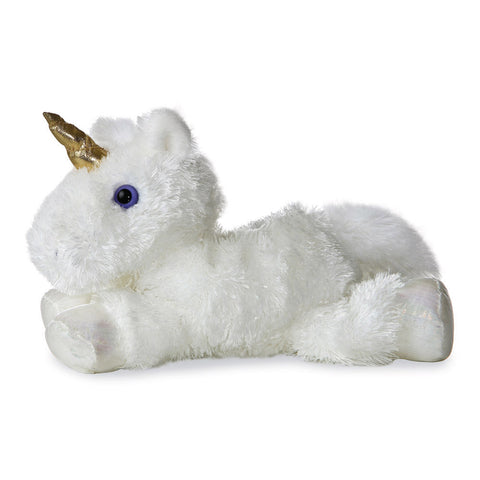 Mini Flopsie Unicorn - White