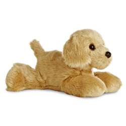 Mini Flopsie - Golden Retriever soft toy - Aurora World LTD