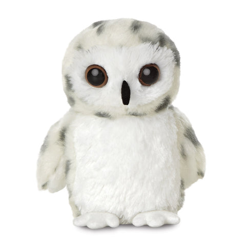 Mini Flopsie - Snowy Owl soft toy - Aurora World LTD