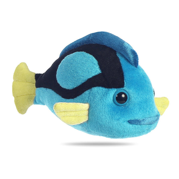 Mini Flopsie - Blue Tang Fish 8In