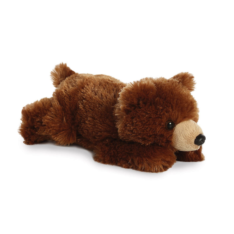 Mini Flopsie - Grizzly Bear 8In - Aurora World LTD