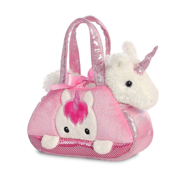 Fancy Pal Peek-a-Boo unicorn and pet carrier - Aurora World LTD